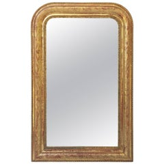 Large Louis Philippe Gilt Mirror (H 39 3/4 x W 25 1/4)