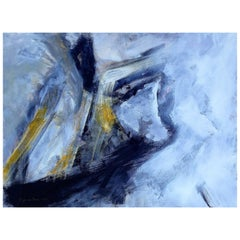 "Suzanne Clune Titled ""Opus"" Abstract Expressionism"