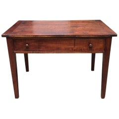Antique French Louis XVI Side Table / Desk