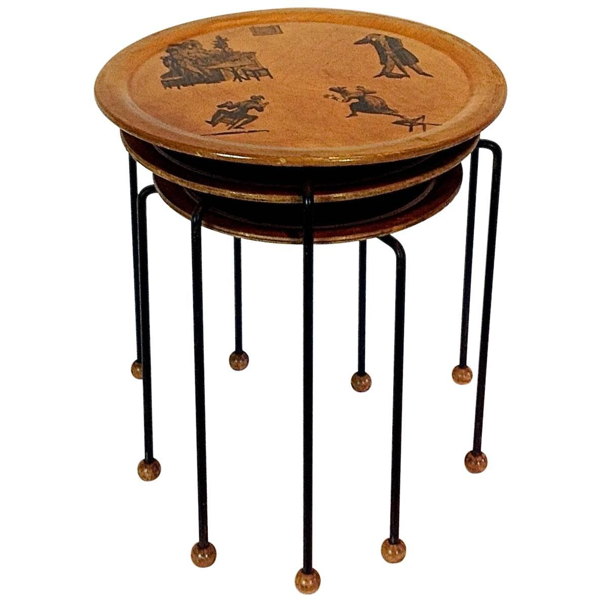 Tony Paul Tempo Group Series Nesting Tables