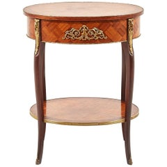 Small Antique Louis XV Style Side Table