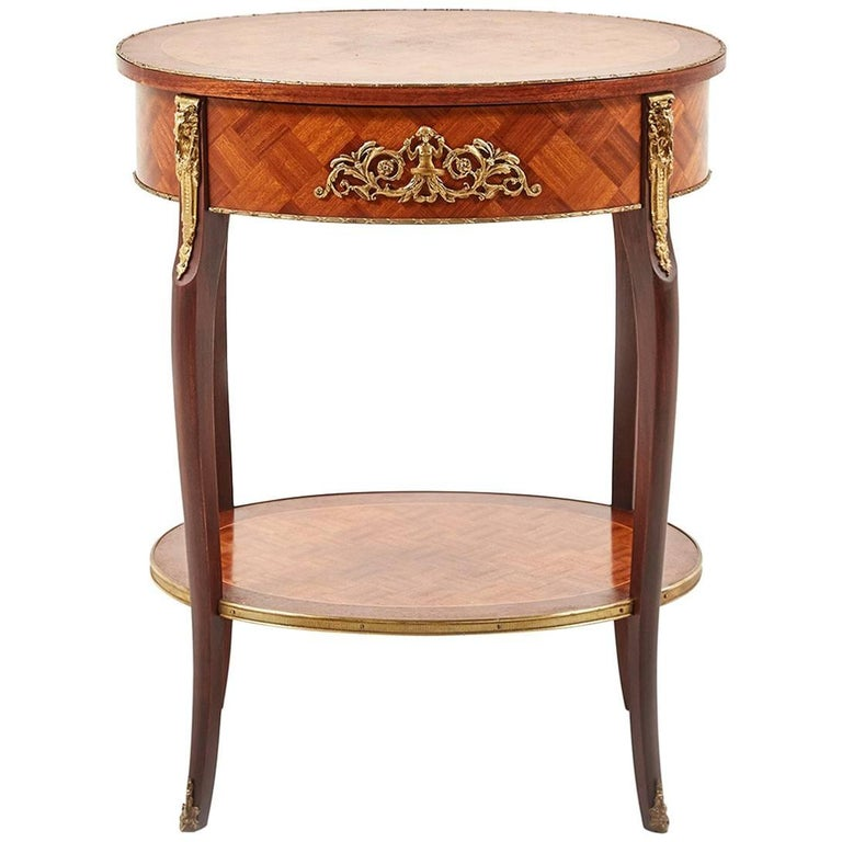 Small antique louis xv style side table for sale at 1stdibs - Table louis xv ...