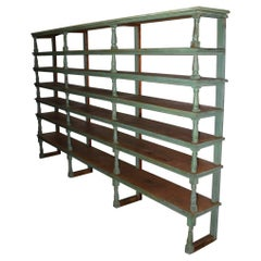Antique American Dry Goods Store Display Shelves
