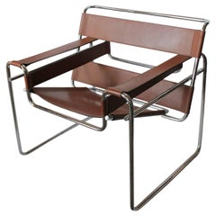 Vintage Wassily Lounge Chair by Marcel Breuer for Knoll