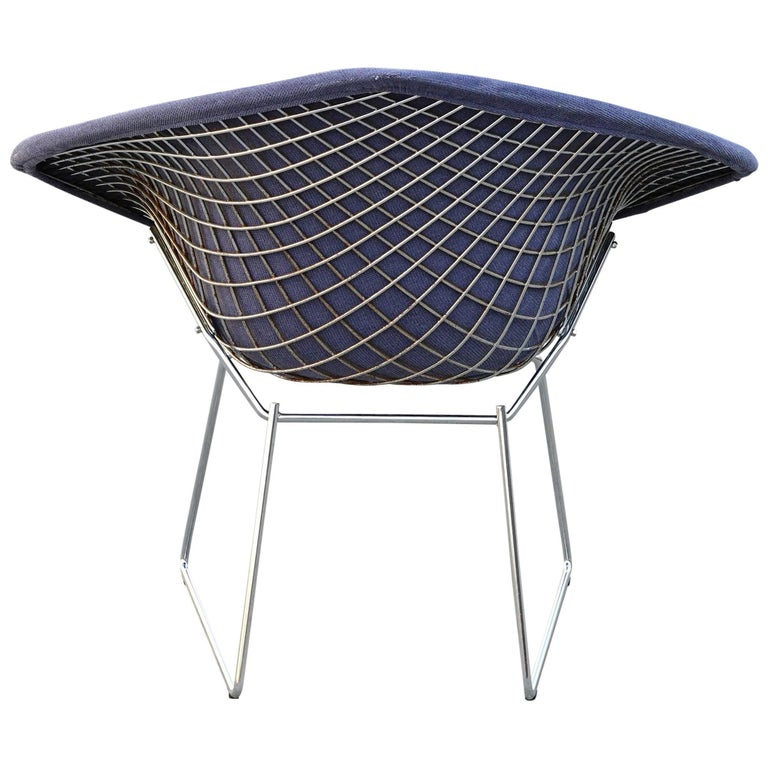 bertoia for knoll diamond chair for sale at 1stdibs. Black Bedroom Furniture Sets. Home Design Ideas