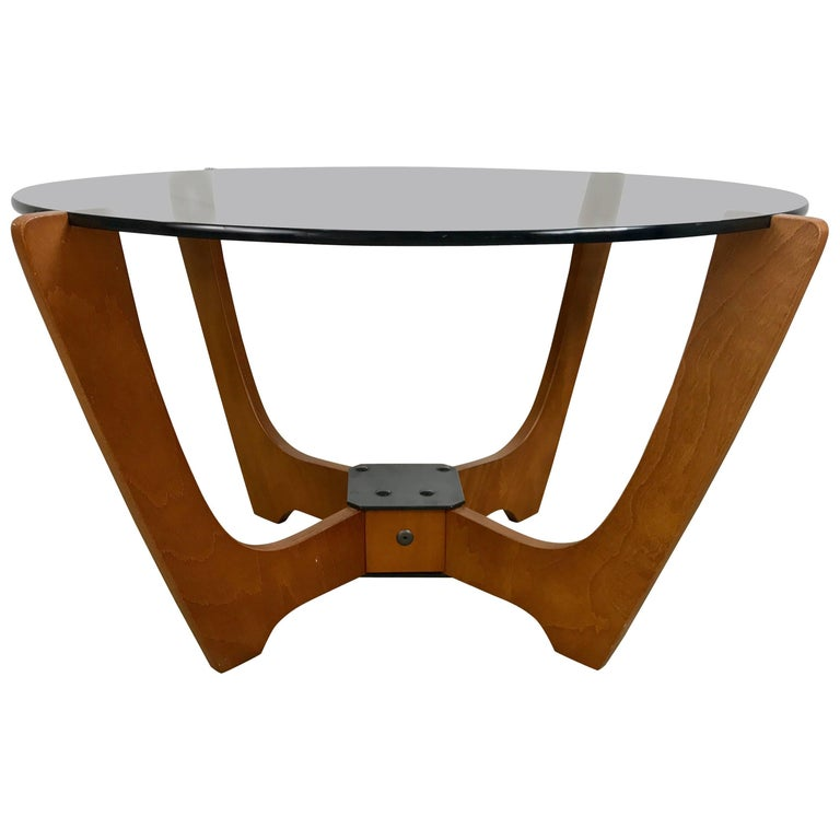 Classic Scandinavian Luna Cocktail Table By Odd Knutsen Norway At 1stdibs