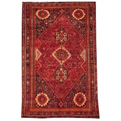 Vintage Persian Shiraz Carpet