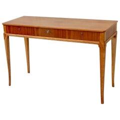 Swedish Grace Console Table in Birchwood, circa 1940