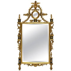 Georgian-Style Gilt Wall Mirror