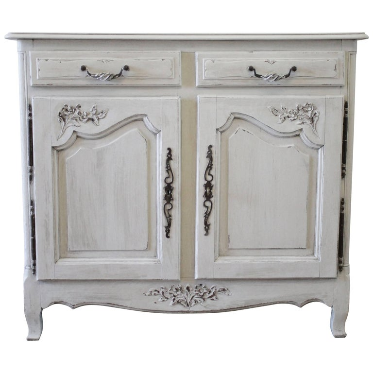 19th Century Painted French Provincial Buffet