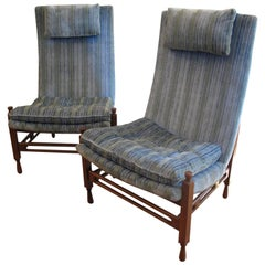 20th Century American High Back Chairs
