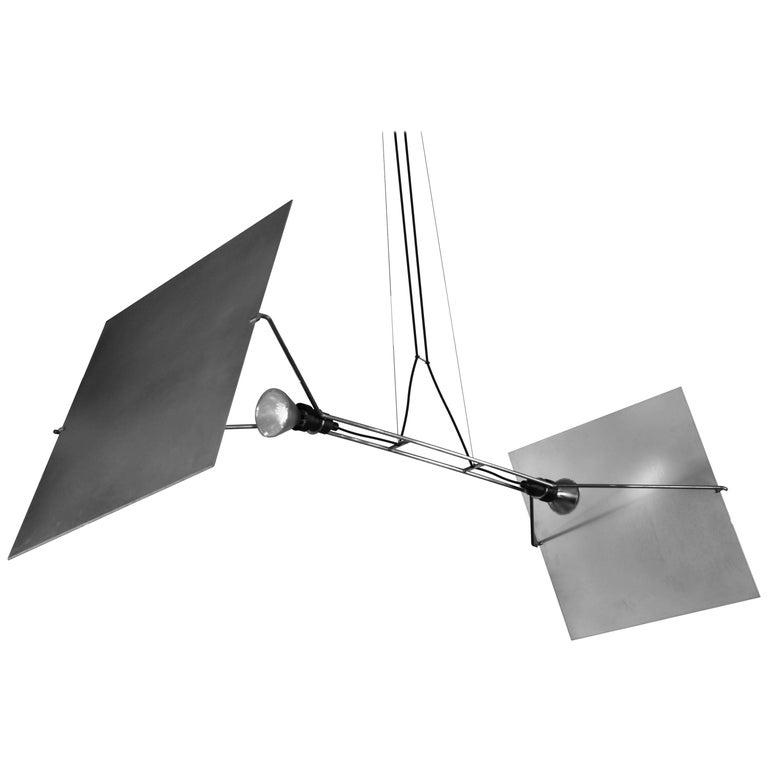 "Casey Lurie Studio Stainless Steel ""Pendas"" Lamp"