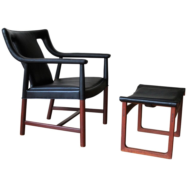 Lounge Chair by Ejner Larsen & A. Bender Madsen