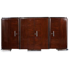 French Art Deco Macassar Buffet
