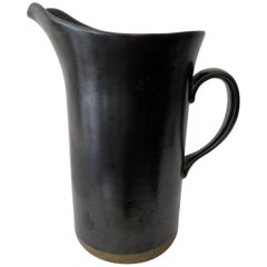 Early Gordon & Jane Martz Marshall Studios Large Pottery Pitcher