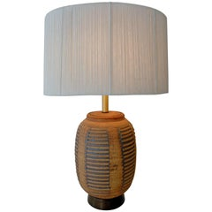 Bob Kinzie Affiliated Craftsmen California Studio Pottery Table Lamp