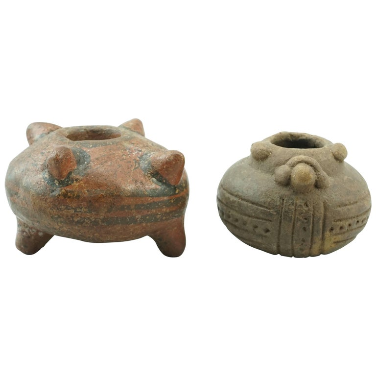 Pre Columbian Nicoya Peninsula Watershed Burial Vessels For Sale