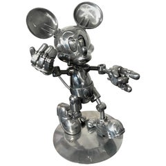 Hajime Sorayama for Disney Tomy Limited Edition Articulated Future Mickey Mouse