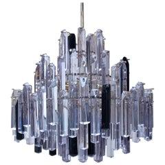 Venini Style Modern Baroque Crystal Chandelier by George Surtees, Sydney, 1970s