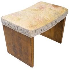 Art Deco Burl Bench