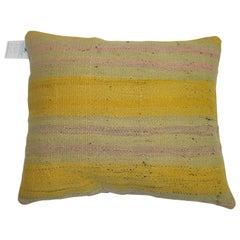 Yellow Vintage Kilim Pillow