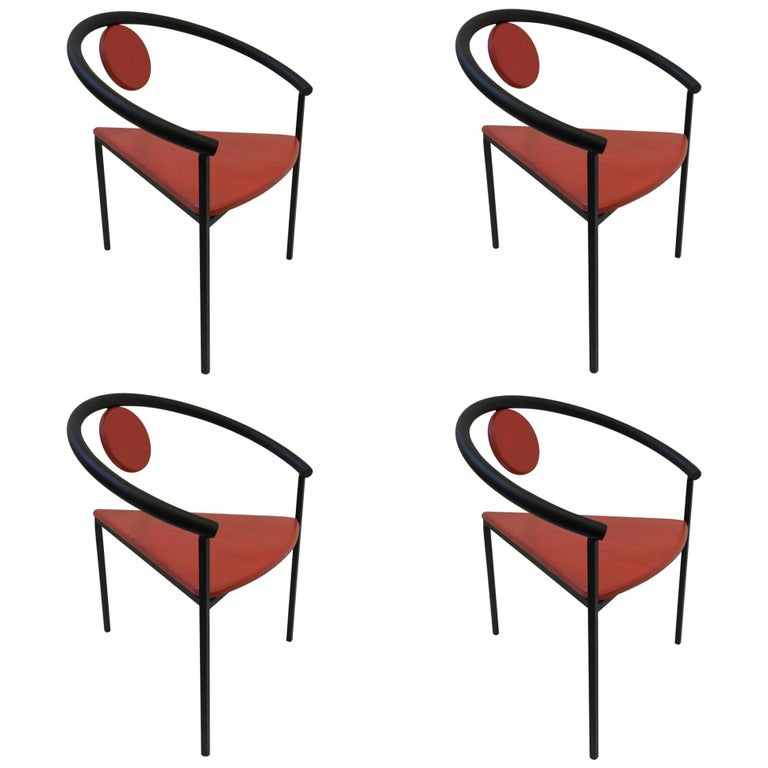 dining chair clipart. set of four tripod memphis dining chairs in the manner michele de lucchi 1 chair clipart l