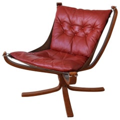 Sigurd Ressell Falcon Chair for Vatne Møbler, 1970s