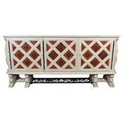 Oak Art Deco sideboard by Jean-Charles Moreux
