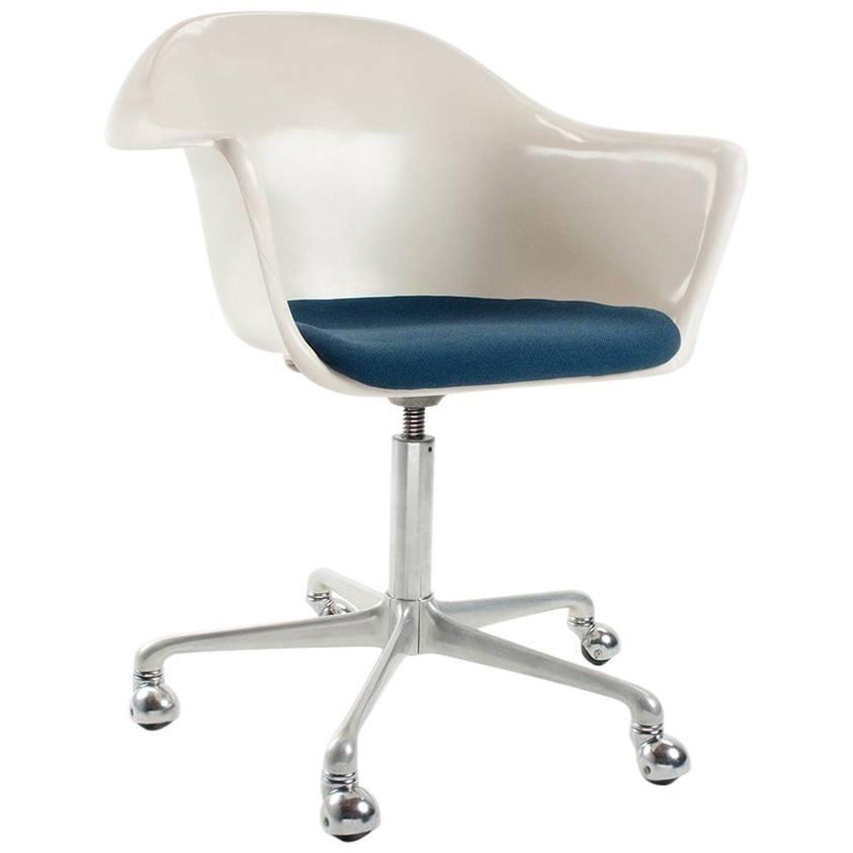 Swivel Desk Chair in Fiberglass by Schafer for Interlubke Germany