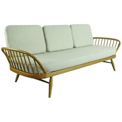 Vintage Midcentury British Ercol 355 Studio Couch or Sofa Bed