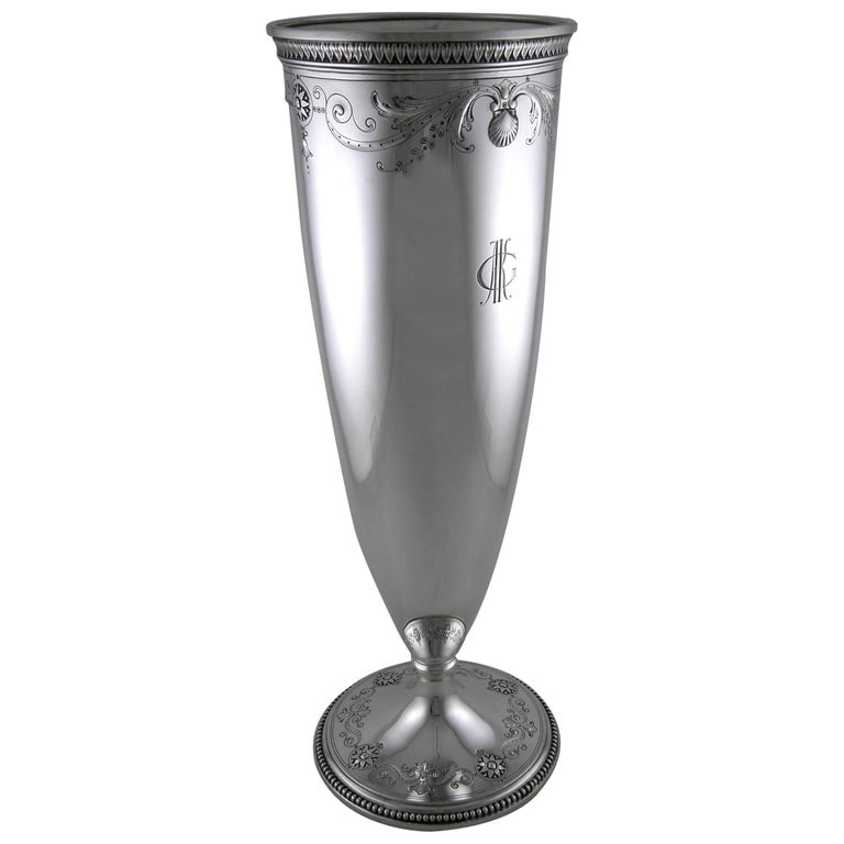 Sterling Tiffany & Co. Vase