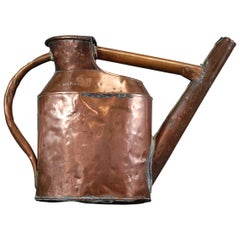 19th Century Wine Makers Copper Watering Can