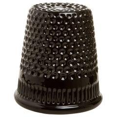 InDito Black Vase by Vito Nesta, Made in Italy