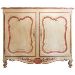 Beautiful Louis XV Hand-Painted Cabinet