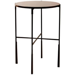 Bronze and Lacquered Rosewood Side Table