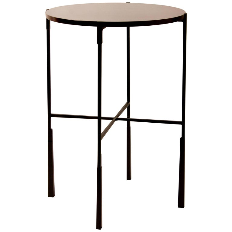 Rosewood - Bronze Side Table