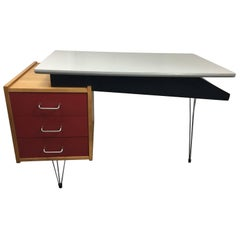 Mid-Century Modern Pastoe Writing Desk by Cees Braakman, 1950s