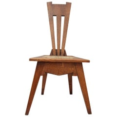 Arts & Crafts Oak Wycliffe Chair