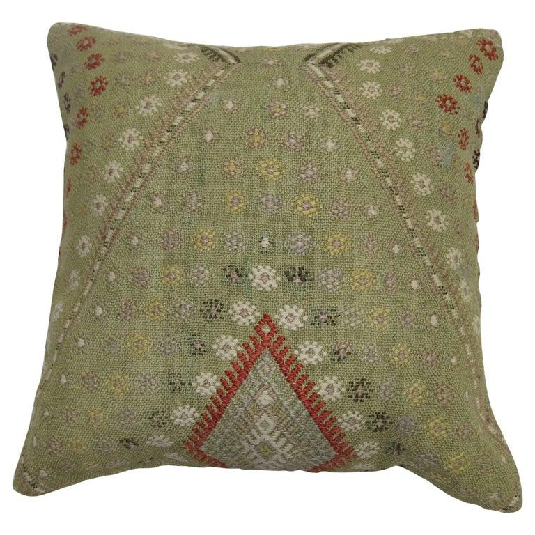 Turkish Jajim Rug Pillow
