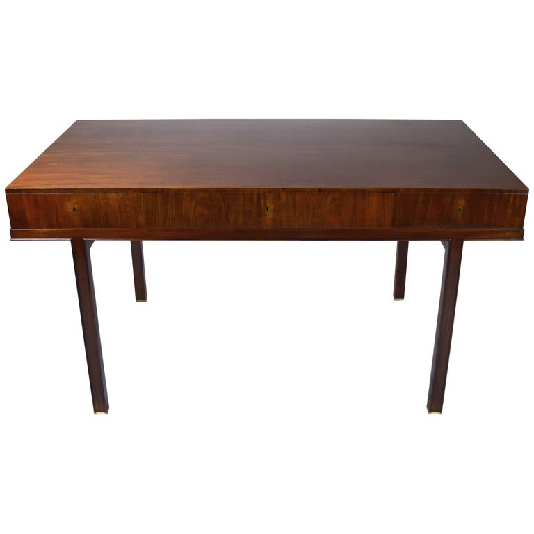 Danish Mahogany Writing Table