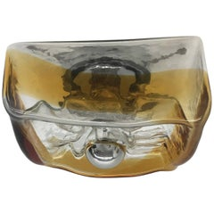 Kaiser Sconce or Ceiling Fixture Flush Mount Murano Glass from '60s