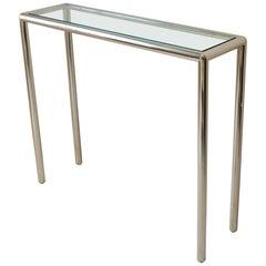 Tubular Steel Console Table