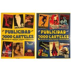 """""""La Publicidad En 2000 Carteles,"""" by Jordi and Arnau Carulla, 2 Volumes, 1998"""