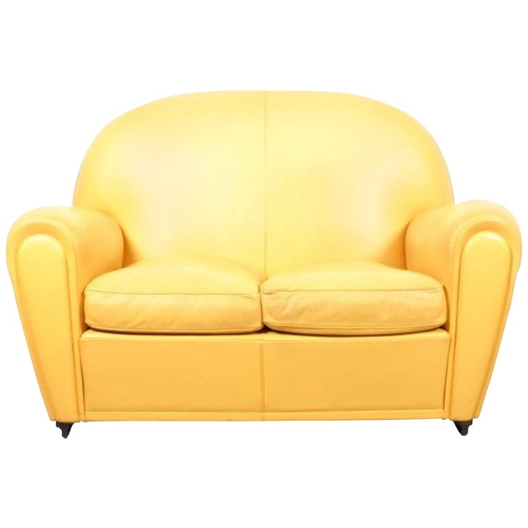 Poltrona Frau Vanity Fair Sofa By Renzo For