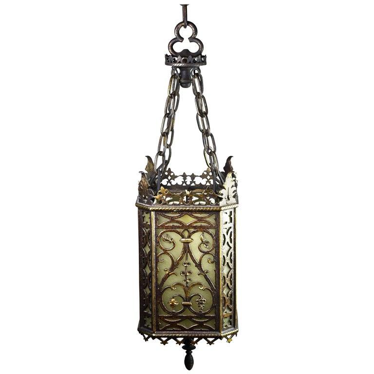 Oscar Bach Brass and Bronze Pendant