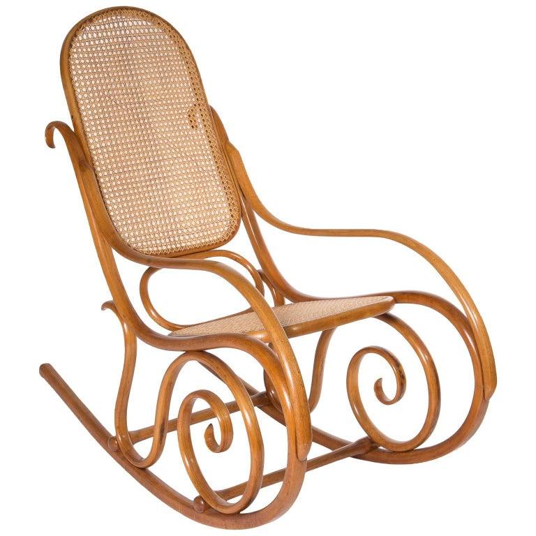 Super Jugendstil Thonet No 10 Bentwood Rocking Chair Austria 1895 Machost Co Dining Chair Design Ideas Machostcouk