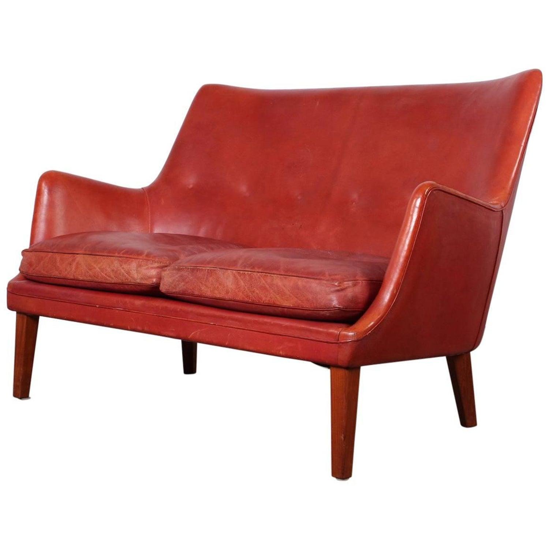 Danish Modern Teak Sofa by Arne Vodder For Sale at 1stdibs