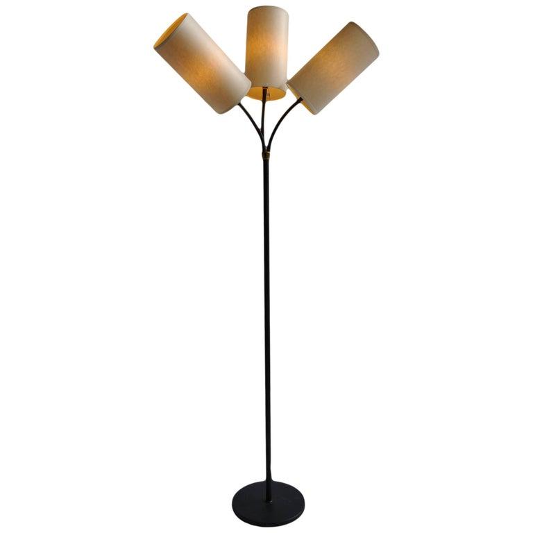 Midcentury Danish Floor Lamp