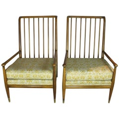 Pair of John Stuart Clingman for Widdicomb Lounge Chairs