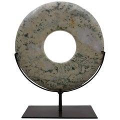 Sopanite Stone Disk - B